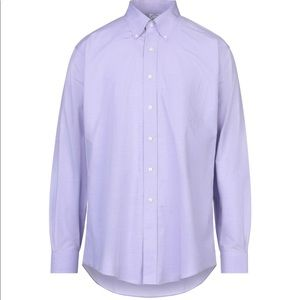 Brooks Brothers Lilac Non-Iron Button Down Shirt